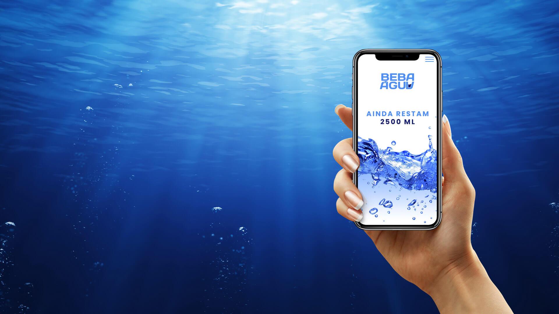 Aplicativo Beba Água